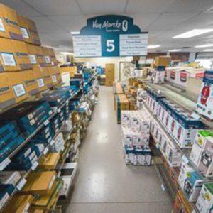 Van Marcke Plumbing Supply Store Aisle