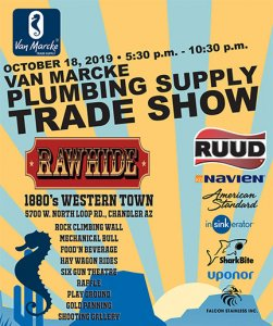 Van Marcke Plumbing Supply Trade Show - Rawhide