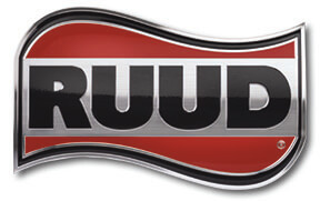 Ruud Heating and Cooling Logo